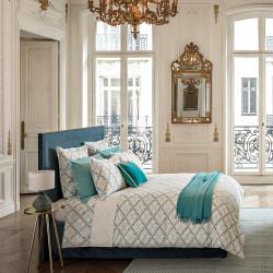 AMBOISE Mariée Parure de lit Percale de coton - Jardin Secret