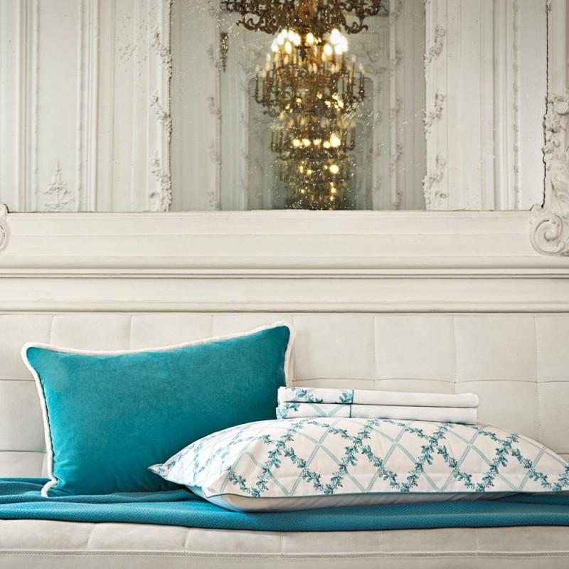 AMBOISE Mariée Parure de lit Percale de coton - Jardin Secret ...