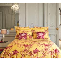 LISA AMBRE Parure de lit Satin de coton - Jardin Secret