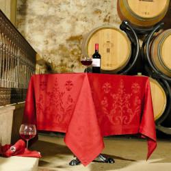 FLORENCE Tomette Nappe jacquard 100% coton - Vent du Sud