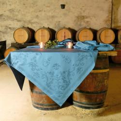 FLORENCE Orage Nappe jacquard 100% coton - Vent du Sud