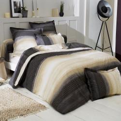 JAZZ Gris Parure de lit Percale de coton - Tradilinge