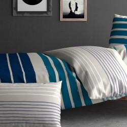 parure cuba inspiration par anne de sol ne en percale linge mat. Black Bedroom Furniture Sets. Home Design Ideas
