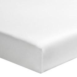 NÉRÉIDE Drap housse uni blanc - Essix