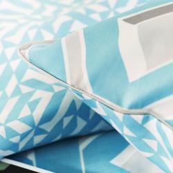 CHAREAU Azure Taie d'oreiller - Designers Guild