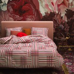 EVIE Red Parure de lit Satin de coton - Essenza