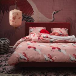 IZIA Rose Parure de lit Satin de coton - Essenza