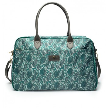 SOLAN Green Sac Pipa Weekender - Essenza