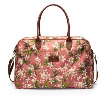 VERANO Dusty rose Sac Pipa Weekender - Essenza