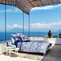 FARAGLIONI Blue V3 Parure de lit Satin - Bassetti Granfoulard