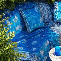 ANACAPRI Blue V3 Foulard - Bassetti Granfoulard