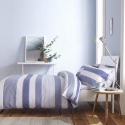 NEW QUAY Bleu Parure de drap 4 pièces - Catherine Lansfield
