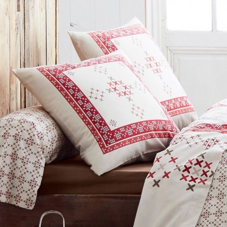 Parure de lit flanelle galway de tradilinge linge mat for Literie couette