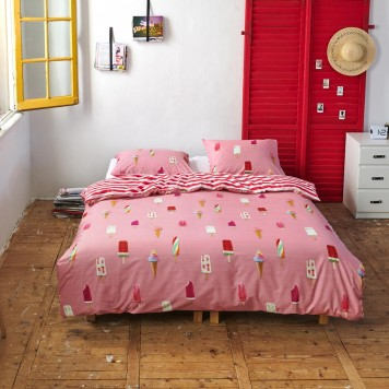 COPA Pink Parure de couette - Covers and Co