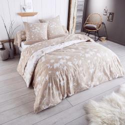 parure de couette lit 140 colette en flanelle tradilinge linge mat. Black Bedroom Furniture Sets. Home Design Ideas