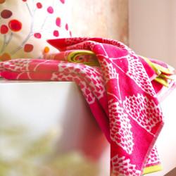 SPIKE Fuchsia Linge de bain - Scion Living