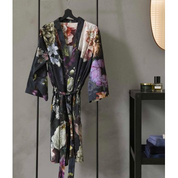FLEUR Nightblue Kimono Satin 100 % coton - Essenza