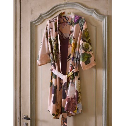 FLEUR Rose Kimono Satin 100 % coton - Essenza