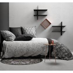 BLACK & WHITE Parure de couette - Atelier du Coton