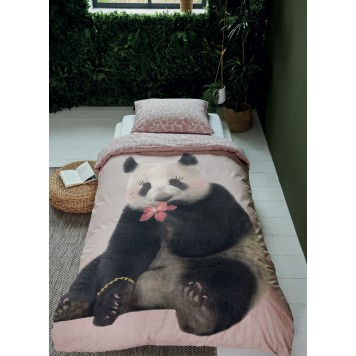 PANDA DREAMS Parure de couette - Covers and Co